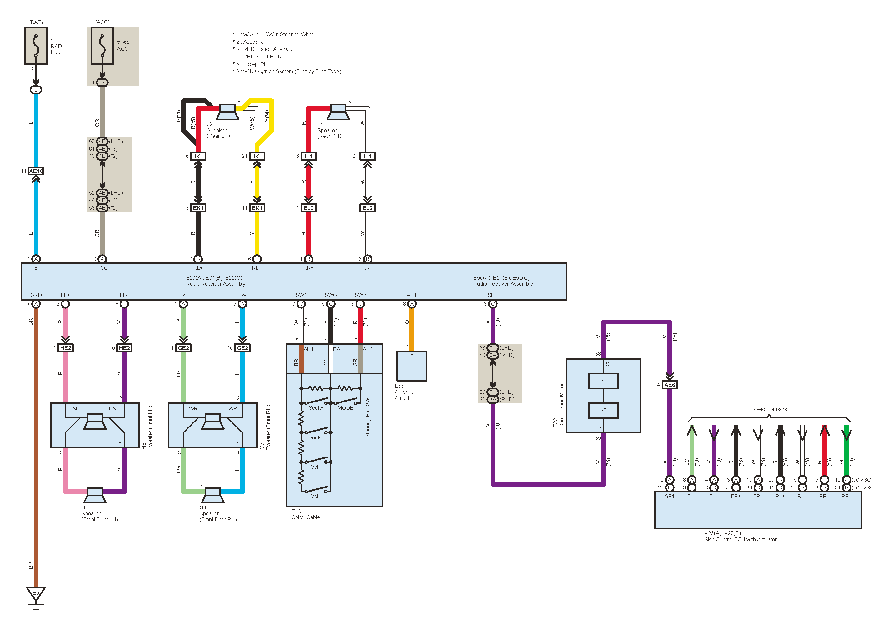 2014 Toyota Venza Radio Wiring Diagram - Schema Wiring Diagrams on